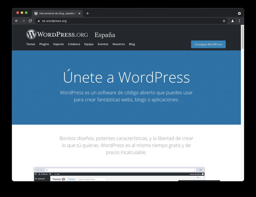 Cómo crear tu sitio web paso a paso con WordPress